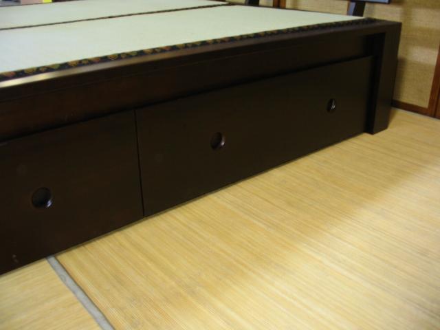 tatami bed drawer set information 2 drawers per set optional - Tatami Bed